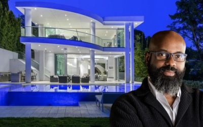 Richelieu Dennis spends $15.7 million cash high above the Sunset Strip